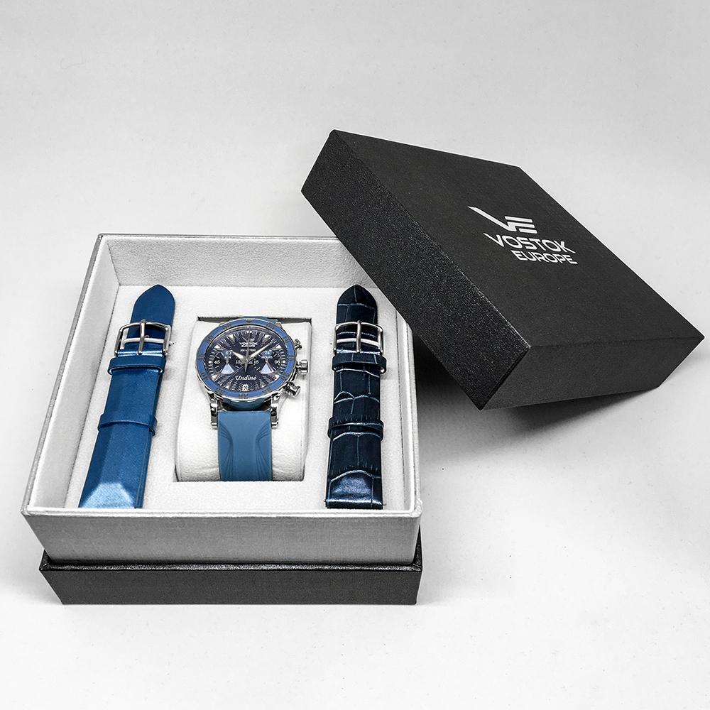 Vostok Europe VK64-515A526 zegarek damski Undine srebrny