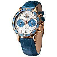 Zegarek Vostok Europe Undine Chrono - damski - duże 5