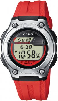 Casio W-211-4AVEF - zegarek męski