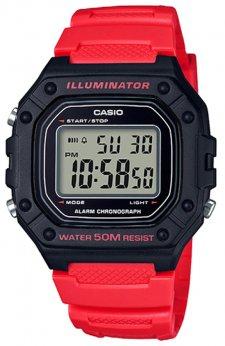 Casio W-218H-4BVEF - zegarek męski