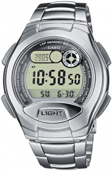 Casio W-752D-1AV - zegarek męski