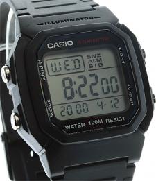 Casio W-800H-1AVEF męski zegarek Sportowe pasek