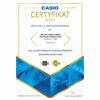 Złoty Certyfikat Casio - duże 5