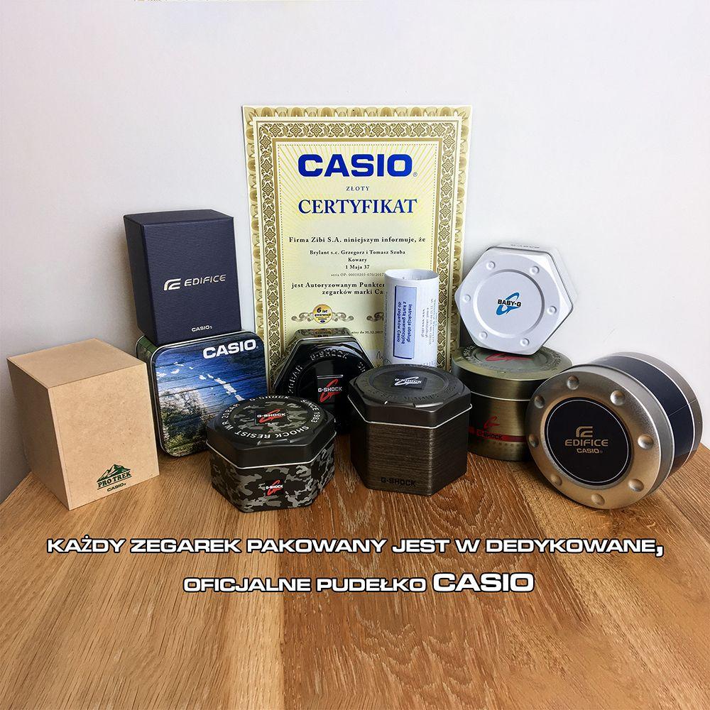 Pudełko Casio