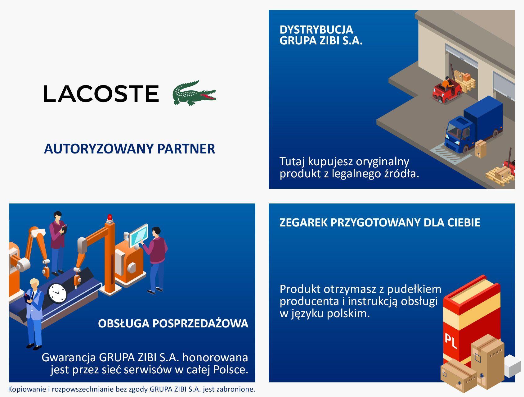 Autoryzowany Partner Lacoste