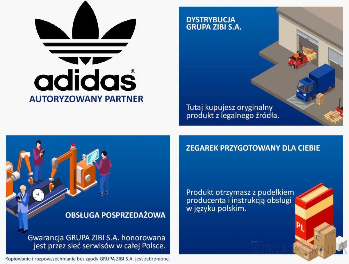 Autoryzowany partner Adidas
