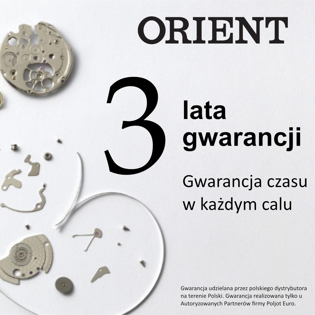 Orient przedłużenie gwarancji do 3 lat