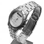 Adriatica A1056.4113 Tytanowe zegarek męski klasyczny szafirowe