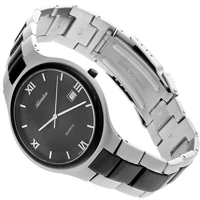 zegarek Adriatica A1114.B164Q srebrny Bransoleta