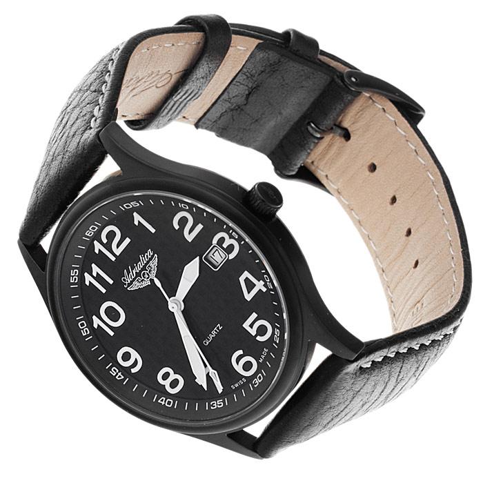zegarek Adriatica A12406.B224Q czarny Pasek