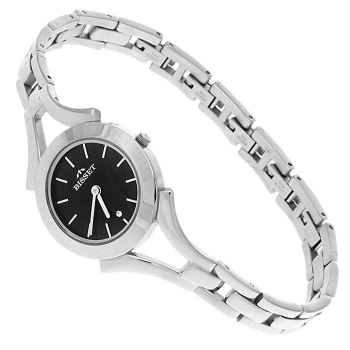zegarek Bisset BSBD05K srebrny Biżuteryjne