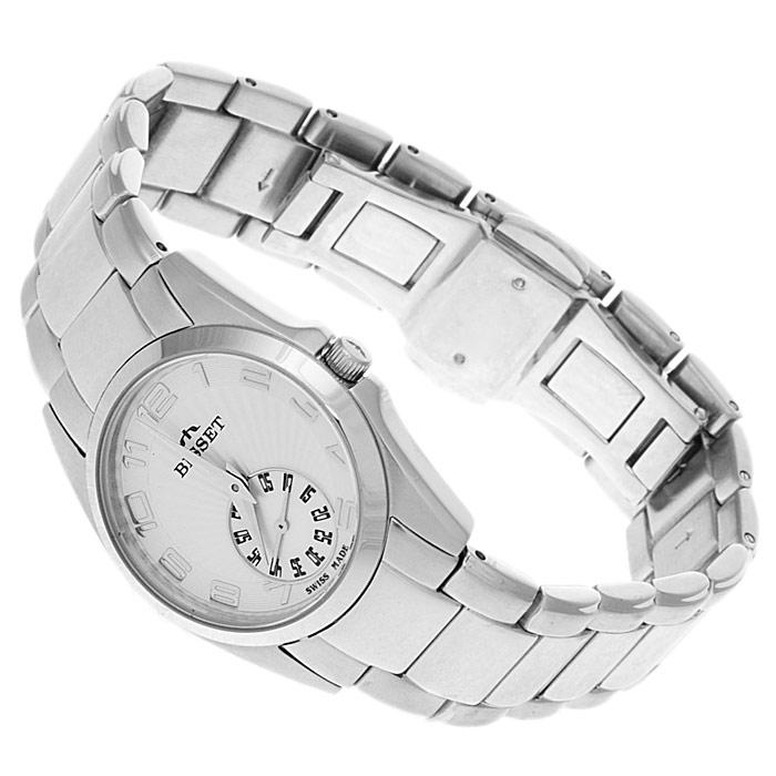 zegarek Bisset BSBD12W srebrny Biżuteryjne
