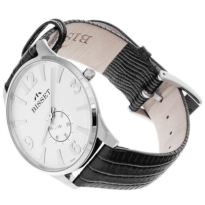 zegarek Bisset BSCC84MW srebrny Klasyczne