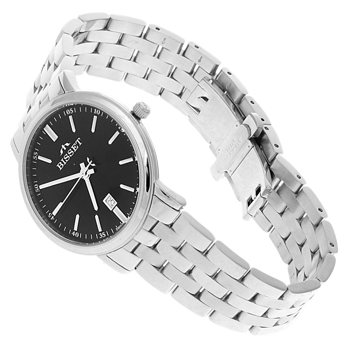 zegarek Bisset BSDC96K srebrny Klasyczne