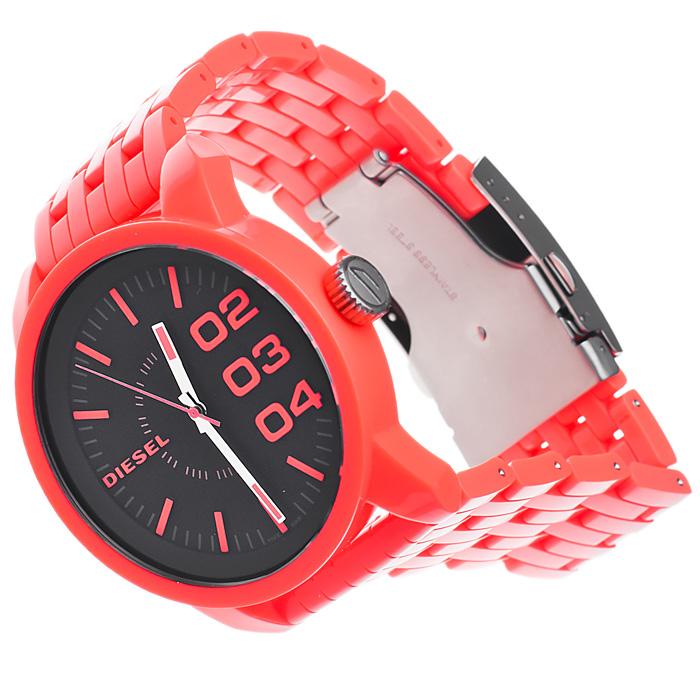 zegarek Diesel DZ1526 czerwony Wyprzedaż