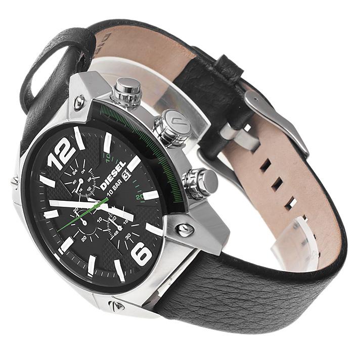 zegarek Diesel DZ4206 srebrny Overflow