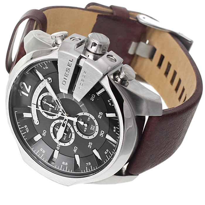 zegarek Diesel DZ4290 srebrny Chief