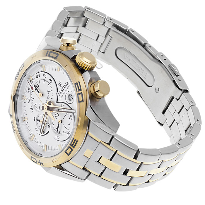 zegarek Festina F16655-1 srebrny Trend