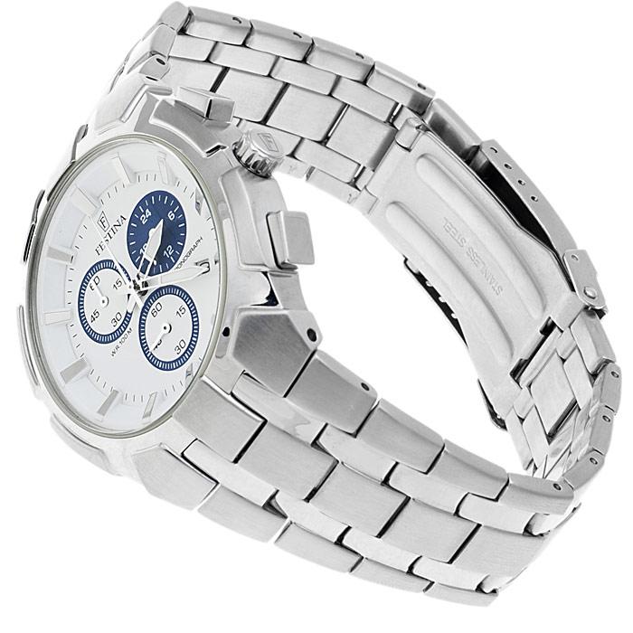 zegarek Festina F6812-1 srebrny Chronograf