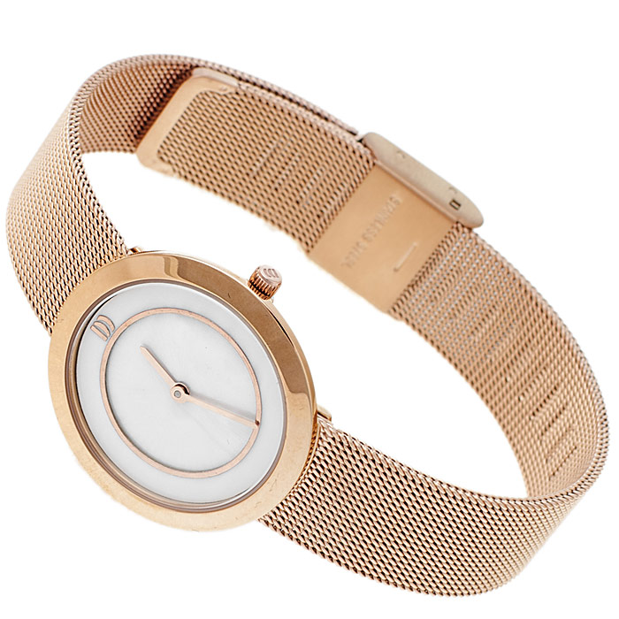 zegarek Danish Design IV67Q1033 różowe złoto Bransoleta