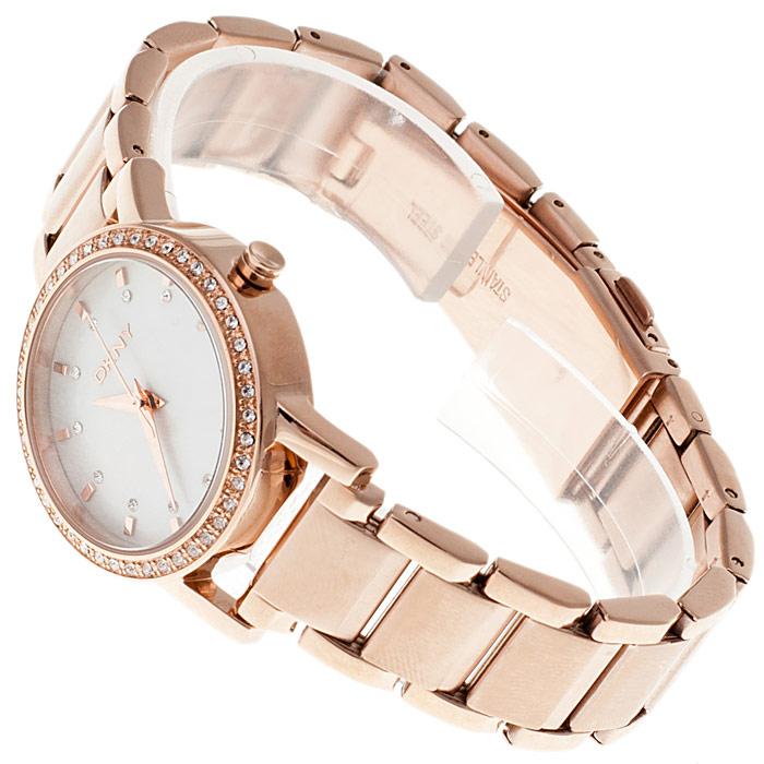 zegarek DKNY NY8121 różowe złoto Bransoleta