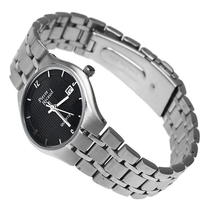 zegarek Pierre Ricaud P3297G.5154Q srebrny Bransoleta