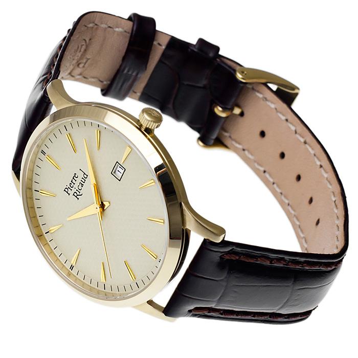 zegarek Pierre Ricaud P91023.1211Q złoty Pasek