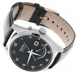 zegarek Seiko SRN051P1 srebrny Kinetic