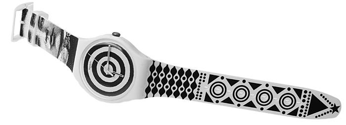 Swatch SUOZ126 Hypnotic Eye Originals New Gent fashion/modowy zegarek czarny