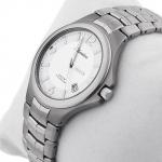 zegarek Adriatica A1068.4153Q srebrny Tytanowe