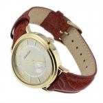 Adriatica A8125.1251Q Pasek klasyczny zegarek złoty