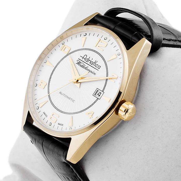 zegarek Adriatica A8142.1253A złoty Automatic