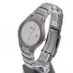 Adriatica A8201.4117 Tytanowe zegarek męski klasyczny szafirowe