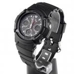 G-Shock AWG-101-1AER G-Shock MC Blacknight zegarek męski sportowy mineralne