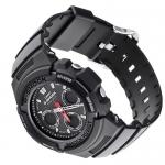 G-Shock AWG-101-1AER MC Blacknight G-Shock sportowy zegarek srebrny