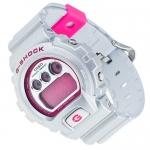 G-Shock DW-6900CB-8ER G-Shock sportowy zegarek szary