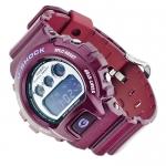 G-Shock DW-6900SB-4ER Temptation G-Shock sportowy zegarek czerwony