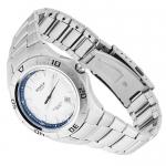 Edifice EF-128D-7AVEF EDIFICE Momentum sportowy zegarek srebrny