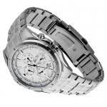 Edifice EF-328D-7AVEF EDIFICE Momentum klasyczny zegarek srebrny