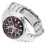 Edifice EF-334D-5AVEF EDIFICE Momentum sportowy zegarek srebrny