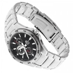 Edifice EF-335D-1AVEF Edifice sportowy zegarek srebrny