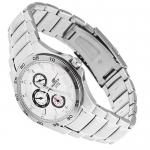 Edifice EF-335D-7AVEF Edifice sportowy zegarek srebrny