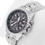 zegarek Edifice EF-527D-5AVEF srebrny Edifice