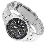 Edifice EF-527D-5AVEF Edifice sportowy zegarek srebrny