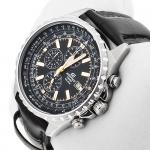 zegarek Edifice EF-527L-1AVEF srebrny EDIFICE Momentum