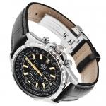 Edifice EF-527L-1AVEF EDIFICE Momentum klasyczny zegarek srebrny