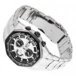 Edifice EF-531D-1AVEF Edifice sportowy zegarek srebrny