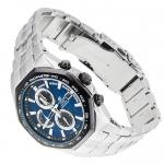 Edifice EF-531D-2AVEF Edifice sportowy zegarek srebrny
