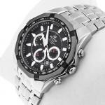 zegarek Edifice EF-540D-1AVEF srebrny EDIFICE Momentum