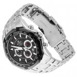 Edifice EF-540D-1AVEF EDIFICE Momentum sportowy zegarek srebrny